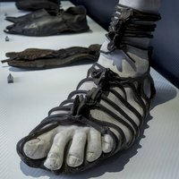 Shoe exhibition reveals three thousand years of footwear history
