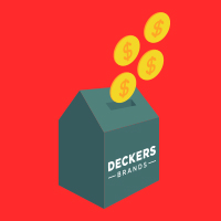 Record sales at Deckers