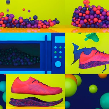 Asics wants to make soles in a microwave