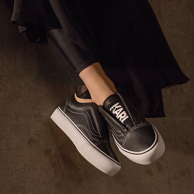 Vans and Karl Lagerfeld in collaboration