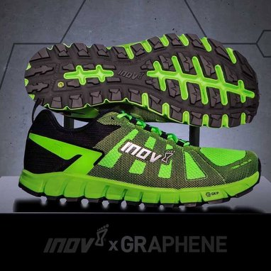 inov-8 launches world's first graphene shoes