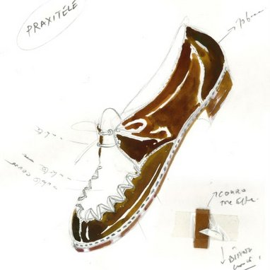 Manolo Blahnik new focus on men's shoes