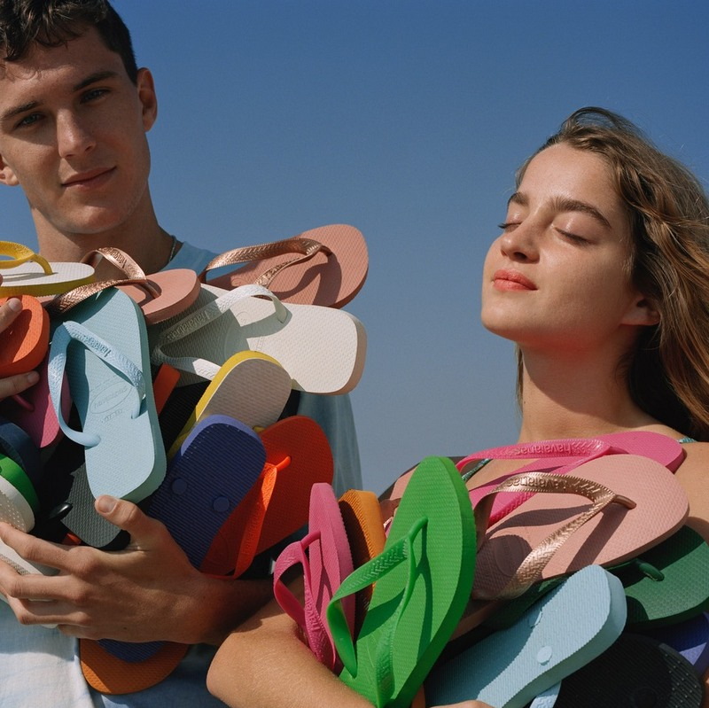Havaianas and Inditex team up for the summer