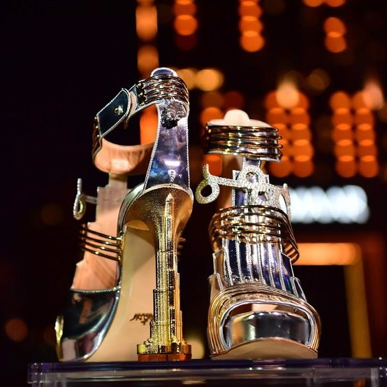 The world's most expensive shoe unveiled in Dubai