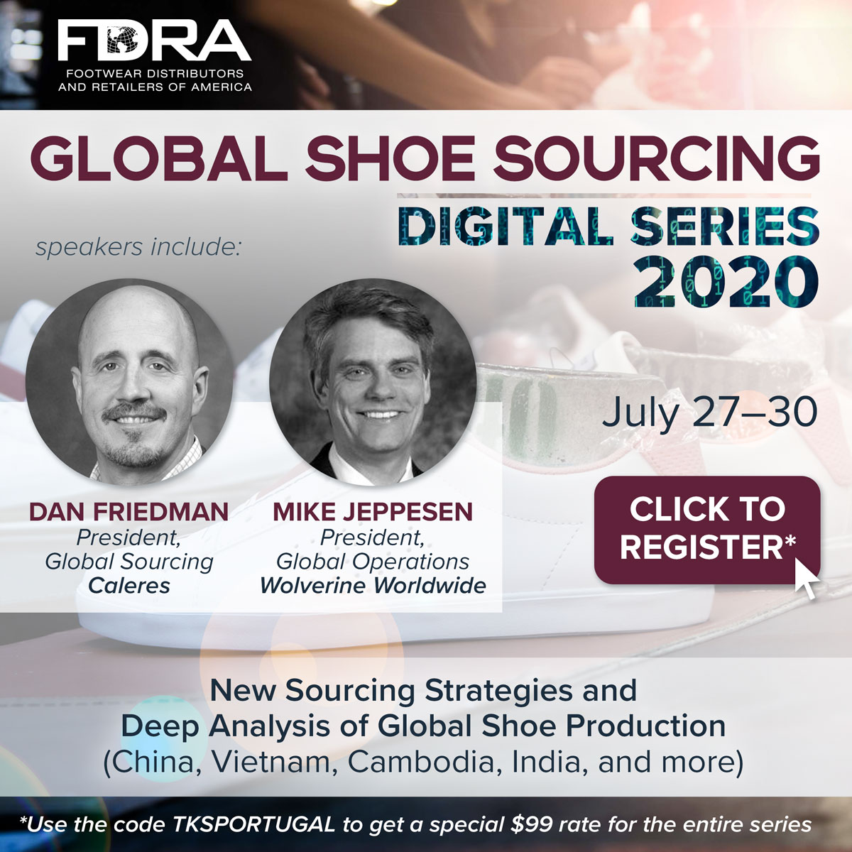 FDRA's Global Shoe Sourcing Digital Series