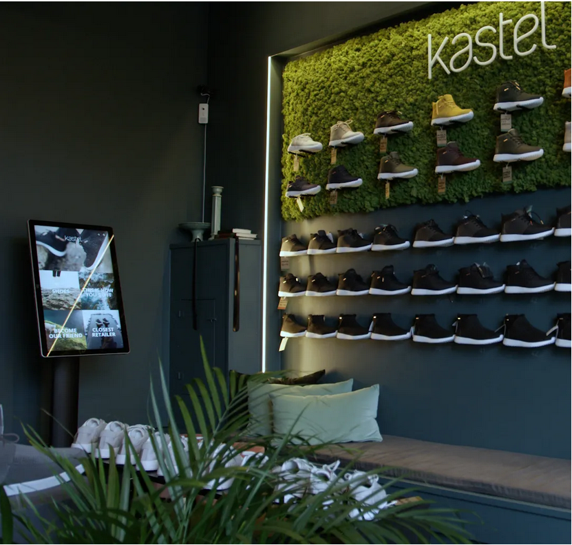 Kastel opens Norway's first self-service shoe shop