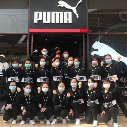 Puma stores reopen in Wuhan