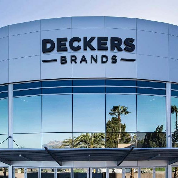 Deckers with two digits increase in sales