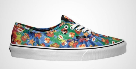 1f26f1aaec Vans  line of Nintendo shoes is expected to be launched in June.