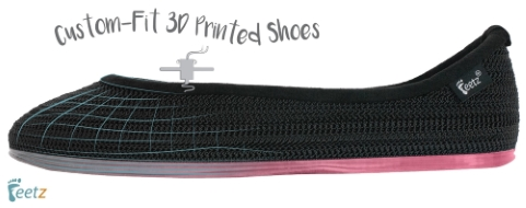 Feetz and DSW partner in 3D printing footwear project
